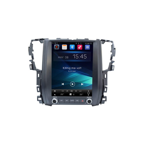 OEM Vertical Screen Car Radio System Toyota Alphard 2015