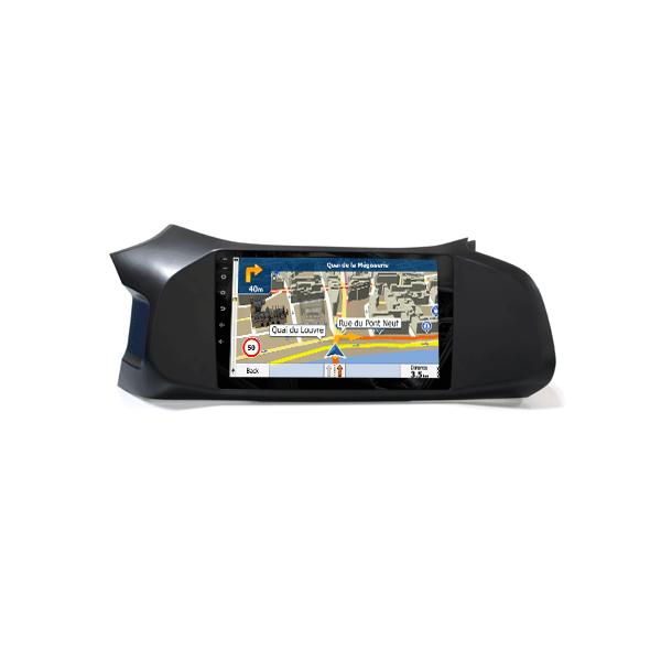 Car Navigation Receiver Chevrolet Onix In Dash Car GPS Navigator