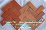 กระเบื้องดินเผา 2x6 (000029)