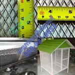 ตะข่ายอลูมิเนียมกันงูกันหนูหน้าประตูรั้วเข้าบ้านน้ำหนักเบาไม่เป็นสนิมจากผู้ผลิต