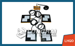 Four-Unit Air Caster System