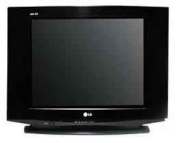 """โทรทัศน์สี จอแบน 21"""" LG  รุ่น 21FU4BB"""