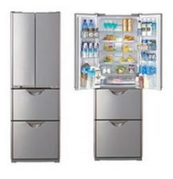 ตู้เย็น 4 ประตู 12.9 คิว HITACHI รุ่น R-SF37WVPTH
