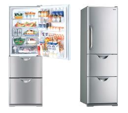 ตู้เย็น 3 ประตู 12.9 คิว HITACHI รุ่น R-S37SVTH