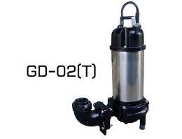 ปั๊มจุ่มจานบด  GD-02, 02T
