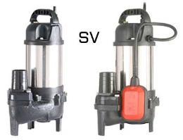 ปั๊มจุ่มดูดโคลนระบบนันคล็อคจ์ SV-150, 150A, 400, 400A