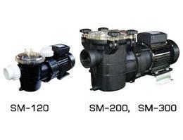 ปั๊มไส้กรอง  SM-120, 200, 300