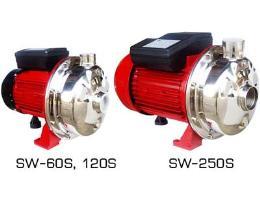 ปั๊มแสตนเลสอุตสาหกรรม รุ่น SW-60S, 120S, 120ST, 250S, 2