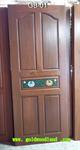 ประตูไม้สัก บานเดี่ยว ลาย GB-01