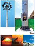 เสาไฟถนน,เสาไฟฟ้าแสงสว่าง,เสาไฮแมส,เสาไฟ LED โซล่าเซลล์ มาตรฐานกรมทางหลวง
