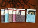 กระเป๋าโทรศัพท์ลายเกล็ดเต่า(Turtle scales pattern phone pocket)