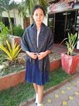 ผ้าพันคอ ( ลายน้ำไหล )