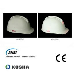หมวกนิรภัย Fashion 1 (Slotted) with LED