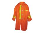 เสื้อคลุมดับเพลิง ชนิดผ้าใบคลุมยาวถึงเข่า