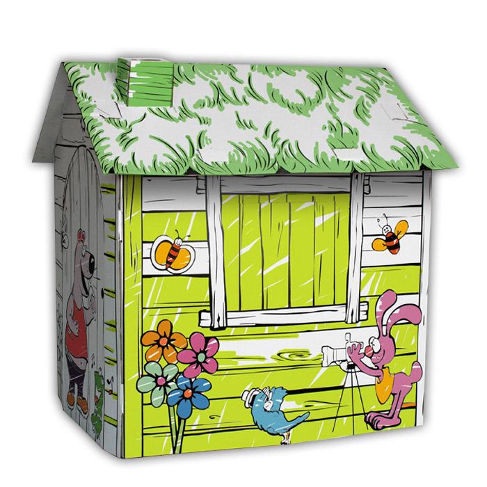 DIY Paper Playhouse เสริมสร้างพัฒนาการเด็ก ด้วยบ้านและเครื่องบินกระดาษ ระบายสีเองได้