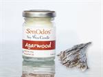 SenOdos เทียนหอม อโรม่า Agarwood Scented Soy Candle Aroma 45 g - กลิ่นไม้หอมกฤษณาแท้