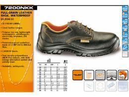 รองเท้า Safety หน้งแท้