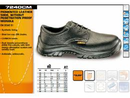 รองเท้า Safety หนังแท้