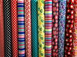 ผ้าคอตตอน 100% พิมพ์ลาย