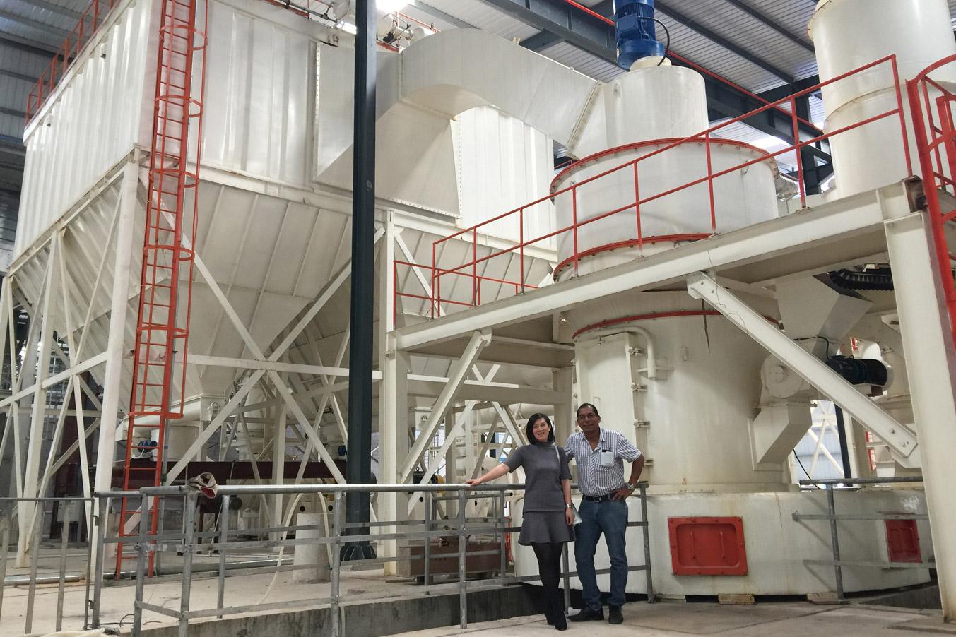 เครื่องบดแร่ HCQ-series Grinding Mill