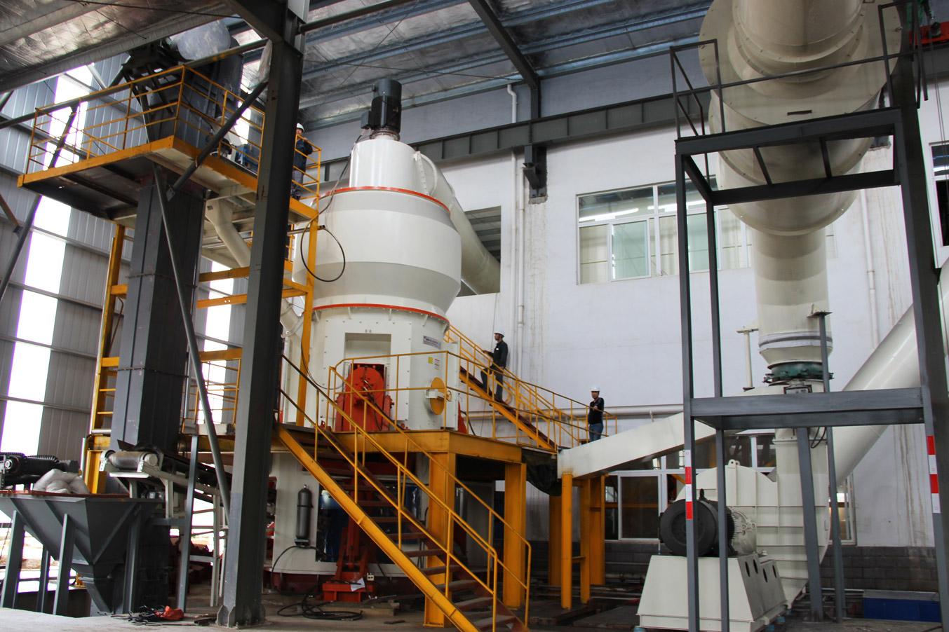 เครื่องบดแร่ HLM Series Vertical Mill