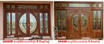 ประตูไม้สัก ,ประตูไม้สักกระจกนิรภัย,ประตูไม้สักบานคู่,ประตูไม้สักบานเดี่ยว,ประตูหน้าต่างไม้สัก