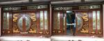 ประตูไม้สัก,กระจกนิรภัย, ประตูไม้สักบานเลื่อน,ประตูหน้าต่าง