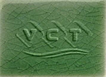 กระเบื้องเซรามิค กระเบื้องสระว่ายน้ำ - สีเขียวศิลาดล