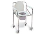 FS696  เก้าอี้นั่งถ่าย พร้อมถัง ( COMMODE CHAIR )