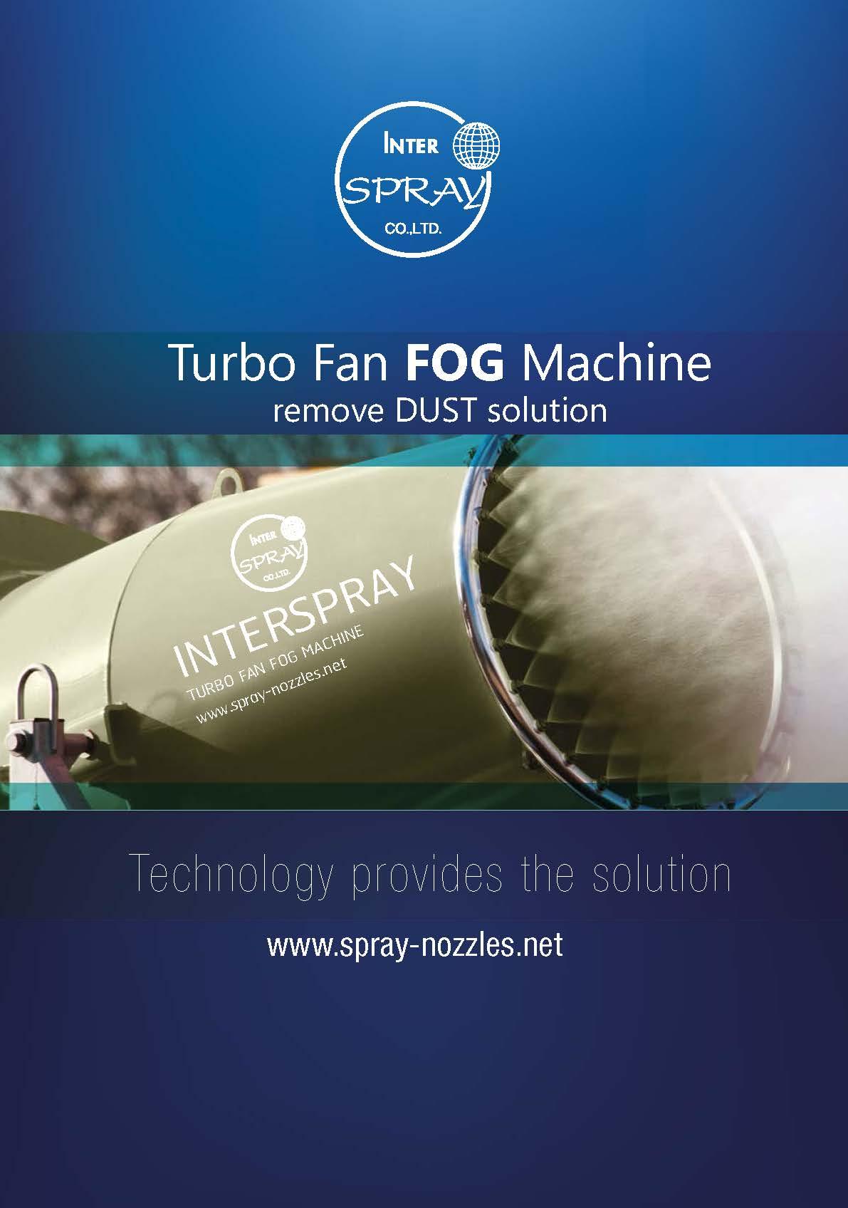 เครื่องพ่นหมอกไอน้ำ TBF40 Turbo Fan Fog Machine TBF40