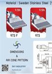 Flat Air Nozzle Best Seller (หัวฉีดอากาศ)