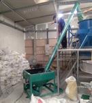 เครื่องส่งเม็ดพลาสติก (Screw Conveyor)
