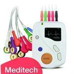 Meditech Portable ECG Recorder 48h 12 Lead Holter Heartrec Eco+Software