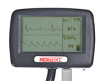 Meditech Vs2 Visual Multifunctional Stethoscope with SpO2