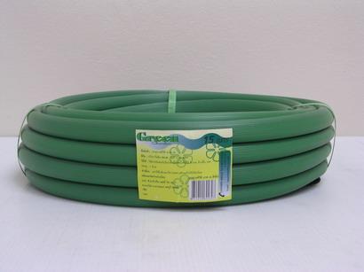 สายยางรดน้ำสีเขียว ขนาด 5/8 ยาว 15 เมตร