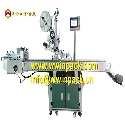 WIN-WIN PACK Automatic plane label machine with card feeder QL-812