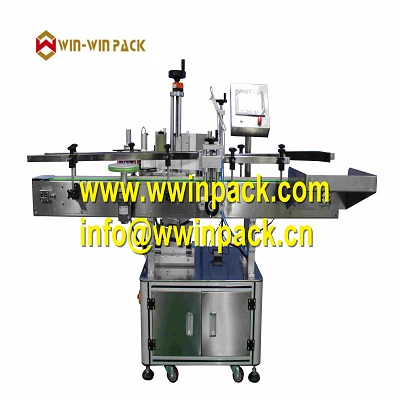 WIN-WIN PACK Automatic round bottle positioning label machine( vertical type ) QL-822