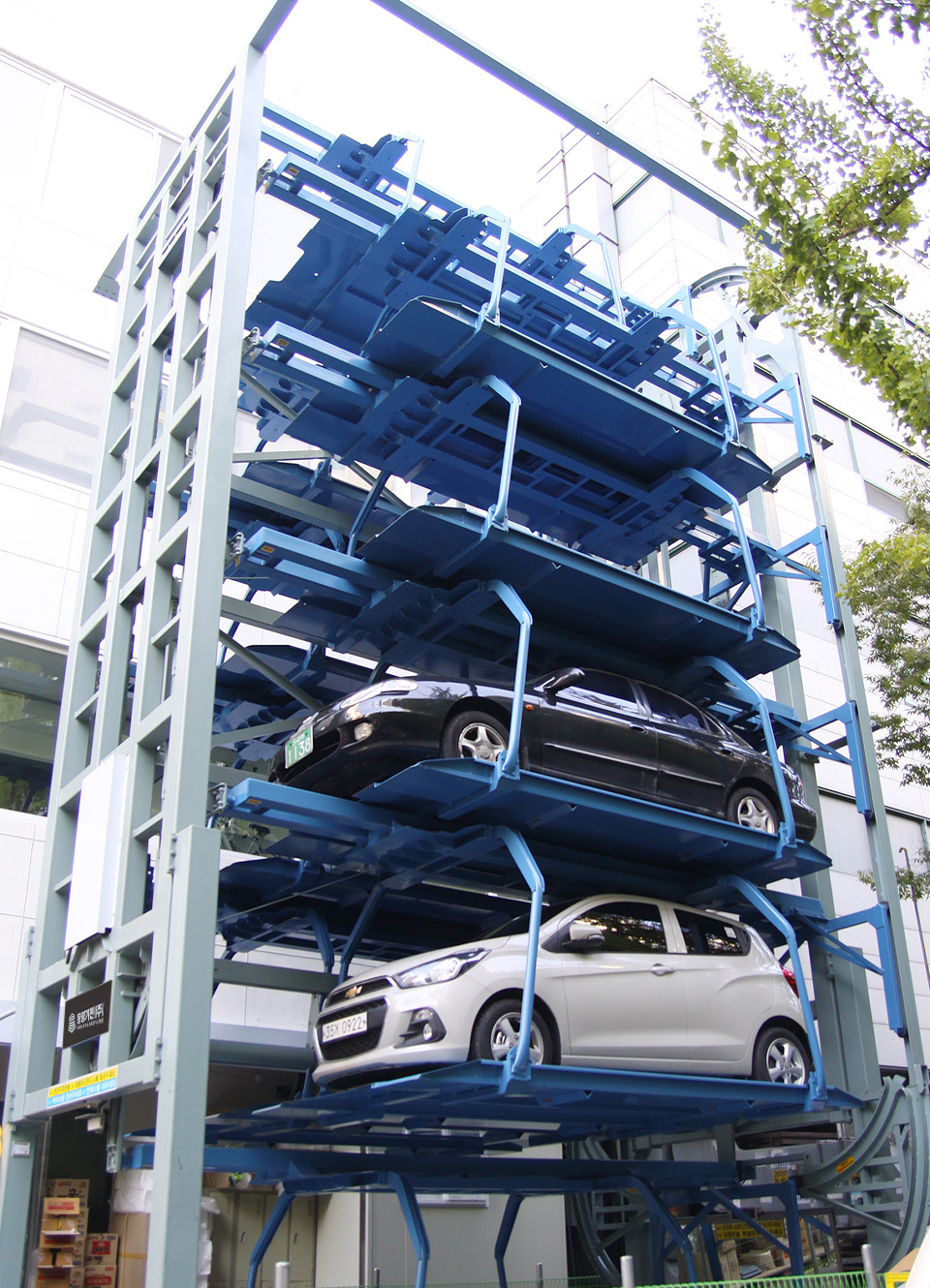 Automated Car Parking, Smart Parking, Mechanical Parking, Robotic Parking