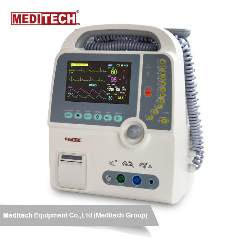 Meditech Hospital Used Biphasic Defibrillator Defi9