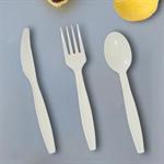 Bio-based single-use utensils ชุดช้อนส้อมเล็ก