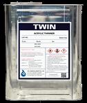 TWIN ทินเนอร์อะคริลิค (TWIN Acrylic Thinner)