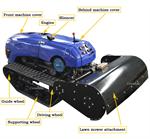 crawler lawn mower robot