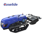 crawler High power remote control rotary cultivator