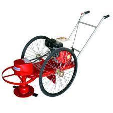 รถเข็นตัดหญ้าล้อจักรยาน 26 นิ้ว HONDA GX120