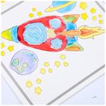 Gouache สมุดระบายสีเด็กวัยหัดเดินสมุดระบายสีการ์ตูน