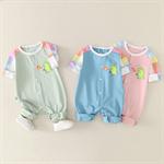 เสื้อผ้าเด็กสีม่วง 3-6-9 เดือนฤดูใบไม้ผลิและฤดูใบไม้ร่วง