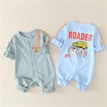 เสื้อผ้าเด็ก 0-3-6 ฤดูใบไม้ผลิและฤดูใบไม้ร่วงเสื้อผ้าปีนเขา