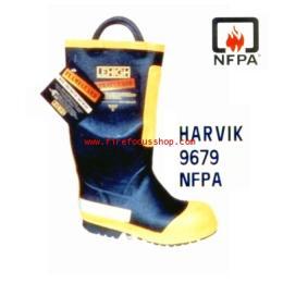 รองเท้าดับเพลิง HARVIK 9679 NFPA
