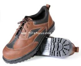 รองเท้าเซฟตี้หนังออยล์น้ำมัน รุ่น FF-611K