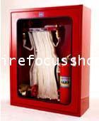 ตู้ Hose Rack เก็บอุปกรณ์ดับเพลิงพร้อมอุปกรณ์ 5 รายการ